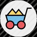 .svg, barrow, cart, garden trolley, hand cart, hand truck, trolley