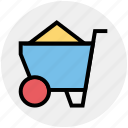 .svg, barrow, cart, garden trolley, hand cart, hand truck, trolley icon