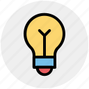 .svg, bulb, electric lamp, light, light bulb, light emitting diode, power station icon