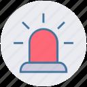 alert sign, emergency vehicle lighting, hazard lights, rotating light, warning lights