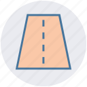 construction, highway, one way, road, road sign, travel icon