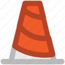 cone pin, construction, road cone, traffic cone, traffic cone pin icon
