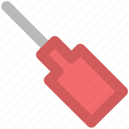 constructor tool, garage tool, repair, screw driver, tool, turnscrew icon