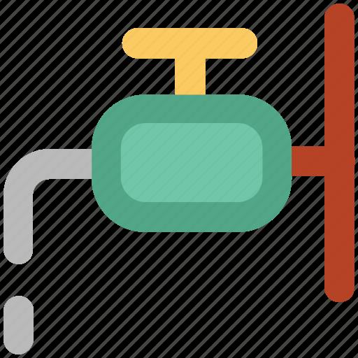 faucet, plumbing, spigot valve, tap, valve, water tap icon