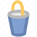 color bucket, paint bucket, paint can, paint pail, pot icon