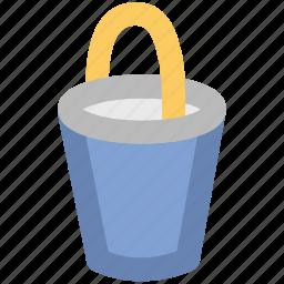color bucket, paint bucket, paint can, paint pail, pot icon