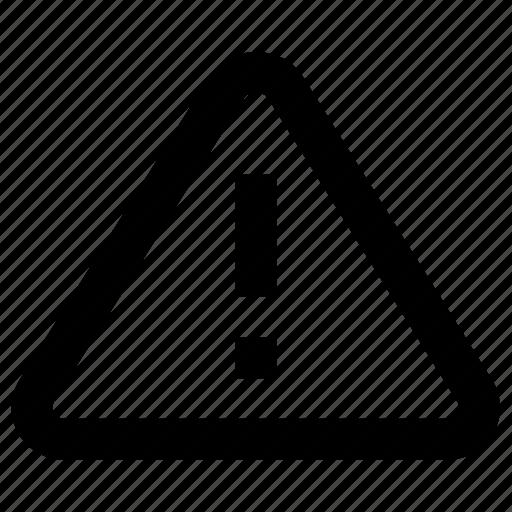 alert, construction, danger, notice, notification, sign, warning icon