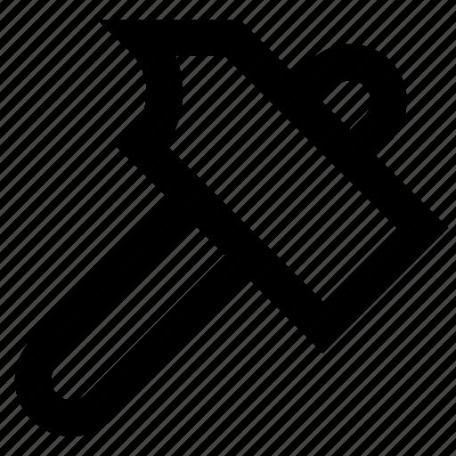 construction, equipment, hammer, tool, tools icon