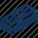 box, cardboard, carton, container, match icon