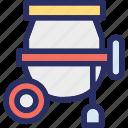 cement, cement mixer, cement mixer machine, concrete, concrete mixer icon