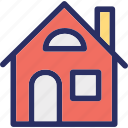 cottage, dwelling, home, house, household icon