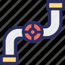faucet, gas tap, nal, plumbing, sink icon