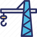 container lifter, lifter, weight holder, weight lifter icon