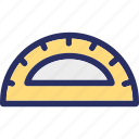 angle, angle tool, geometry, protractor, protractor tool icon