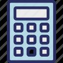 calculation, calculation device, calculator, calculator machine, estimated machine icon