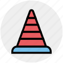 .svg, cone pin, construction, construction cone, road cone, traffic cone, traffic cone pin icon