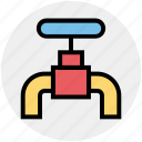 .svg, construction, faucet, plumbing, spigot valve, tap, water tap icon