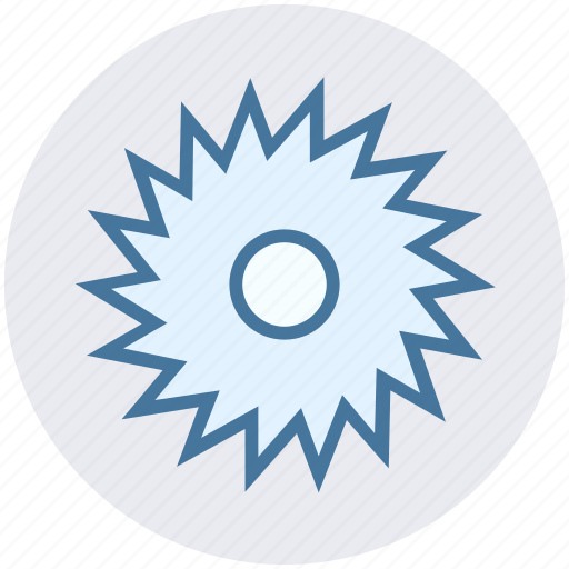 circular saw, construction, power tool, saw blade, saw wheel, wheel blade icon