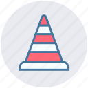cone pin, construction, construction cone, road cone, traffic cone, traffic cone pin icon