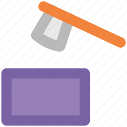 auction, gavel, hammer, law, legal, mallet icon