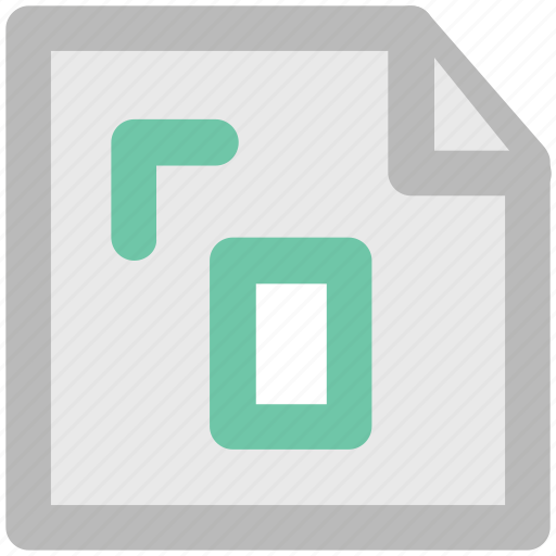 Document, extension, file, instruction, measurement paper icon - Download on Iconfinder