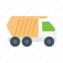 dumper, vehicle, construction, truck, machinery icon