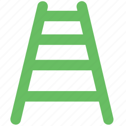ladder, railing stair, staircase, stairs, steps, wood stairs icon