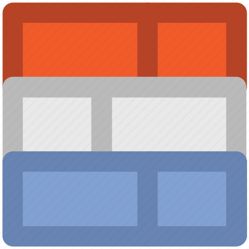 blocks, bricks, construction, fence, partition, wall icon