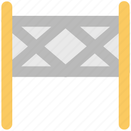 barrier, construction banner, construction barrier, guard barrier, road barrier, street barrier, traffic barrier icon