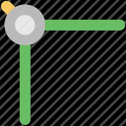 compass, drafting tool, drawing tool, geometric, geometrical compass, geometry tool icon