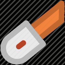 box cutter, cutter, cutter tool, paper cutter, pocket knife, snap off blade icon