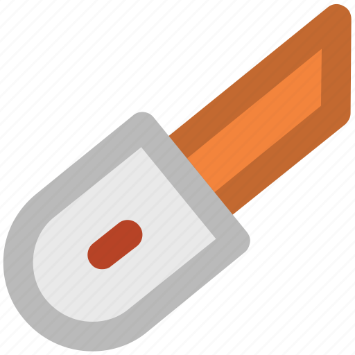 Box cutter, cutter, cutter tool, paper cutter, pocket knife, snap off blade icon - Download on Iconfinder