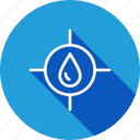 construction, risk, stop, water icon