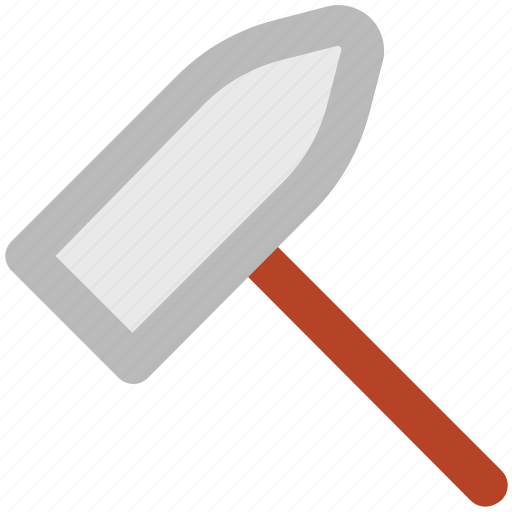 construction tool, hammer, hardware, hit, renovation, repairing, work instrument icon