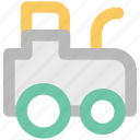 agricultural tractor, farm tractor, field machinery, machinery, plowing, tractor, transportation icon