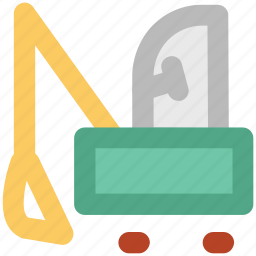 crane, excavator, heavy machinery, lifter, luggage lifter icon
