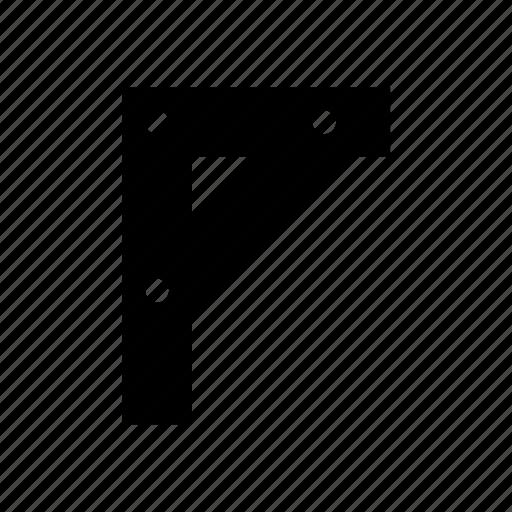 corner, measurement, ruler, tools icon icon