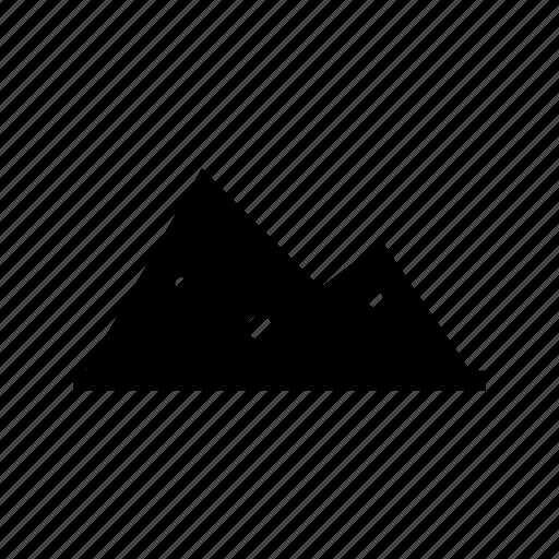 gravel, sand icon