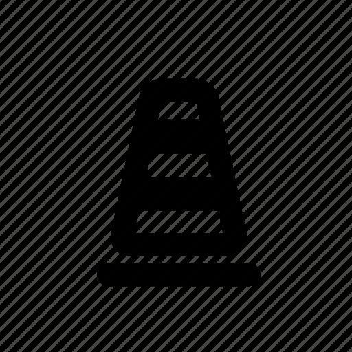 cone, construction, maintenance, traffic icon icon