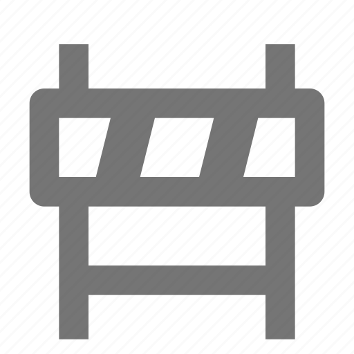barrier, construction, fence icon
