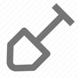 architecture, build, construction, dig, equipment, home, shovel, tool icon