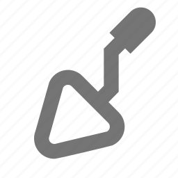 cement, construction, shovel, tool icon