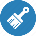brush, equipment, paint, painting, renovation icon