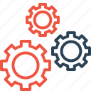 construct, gear, optimize, repair, setting, ui icon