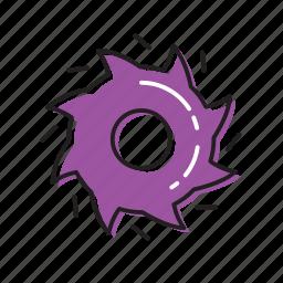 blade, cutter, sharp blades icon