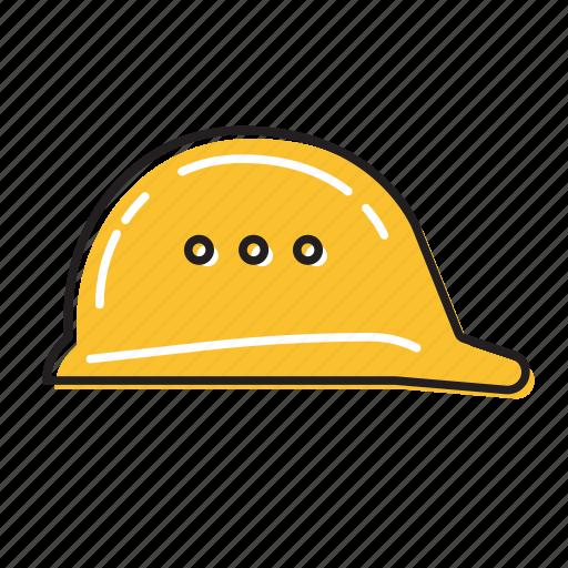 helmet, safety helmet icon