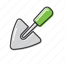shovel, small shovel icon