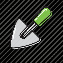 shovel, small shovel icon