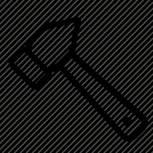 hammer, maintenance, tools icon
