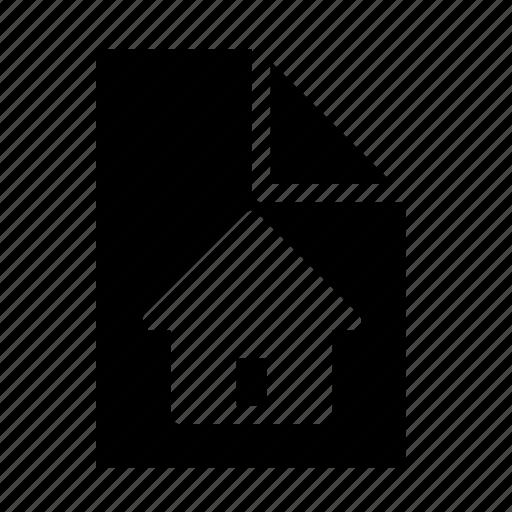 blueprint, document icon